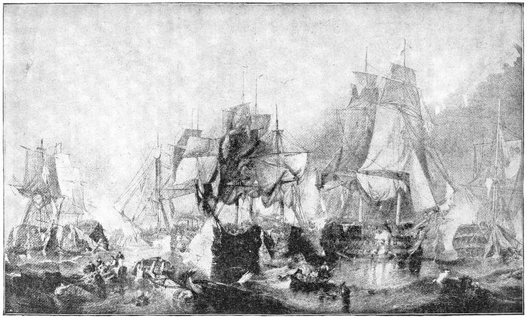 The project gutenberg ebook of triumphs and wonders of the 19th battle of trafalgar fandeluxe Image collections