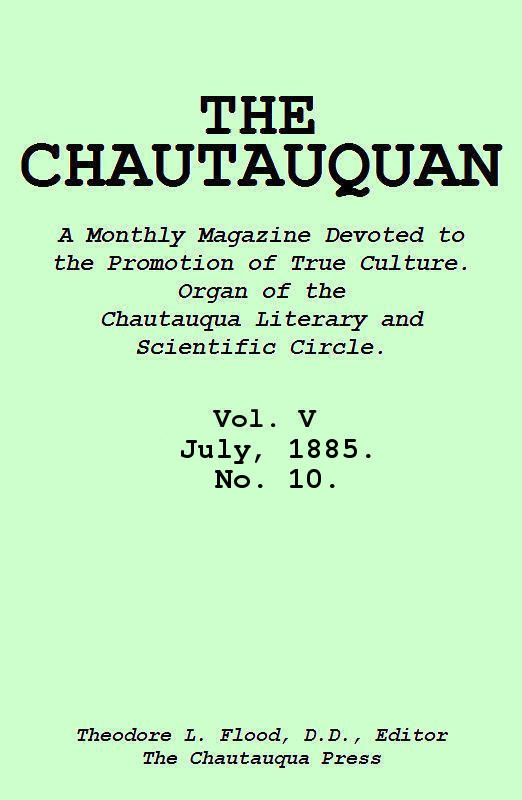 The project gutenberg ebook of the chautauquan vol v july 1885 cover fandeluxe Choice Image