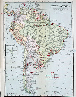 The Project Gutenberg eBook of Working North from Patagonia