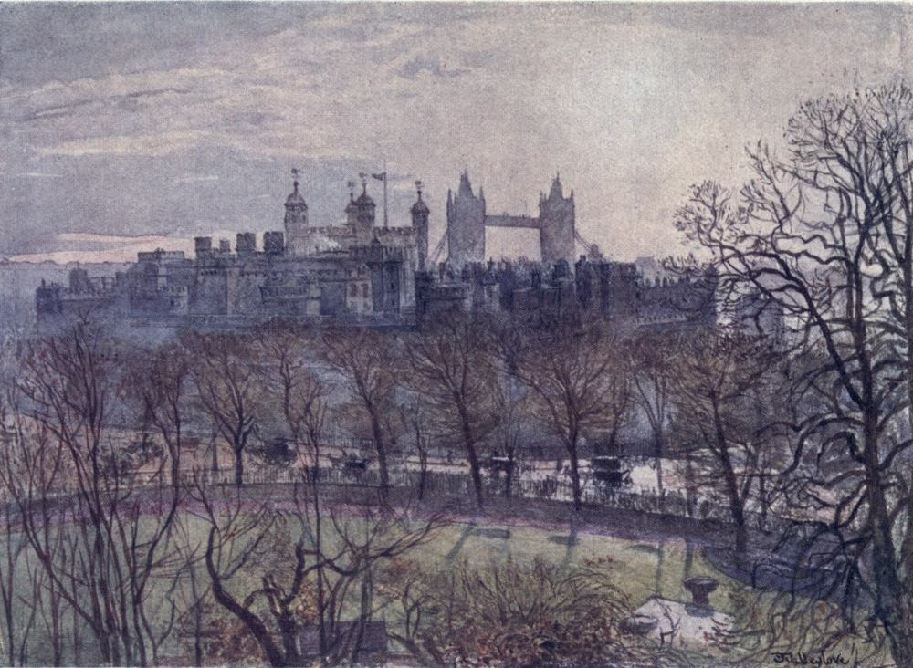 The Gatehouse Collection Print from Painting Windsor Castle from Thames Pat Bell