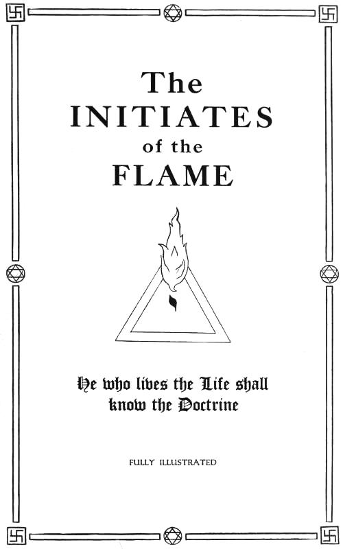The project gutenberg ebook of the initiates of the flame by manly cover image fandeluxe Choice Image