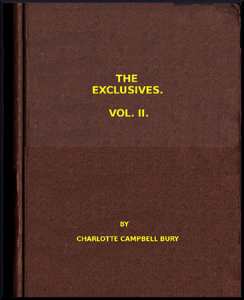 The Project Gutenberg Ebook Of The Exclusives Vol Ii By Carlotte
