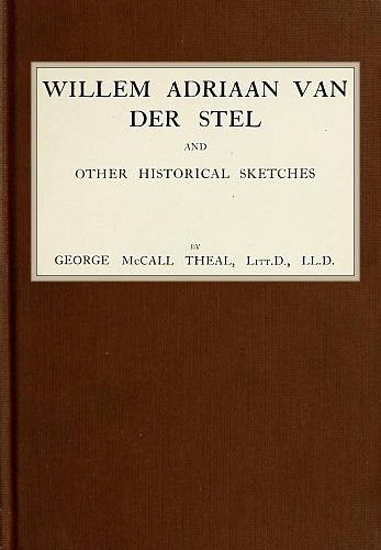 The Project Gutenberg Ebook Of Willem Adriaan Van Der Stel By
