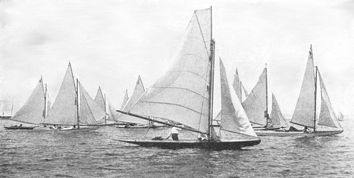 Ligh Soft Cute Anchor Sail Boat Sailing Yachting Wide Circle Loop Infinity White