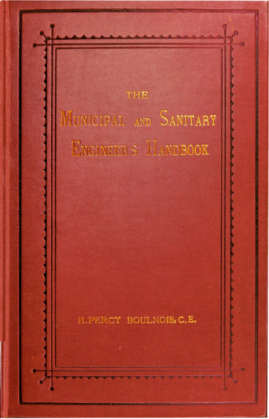 The Project Gutenberg eBook of The Municipal and Sanitary