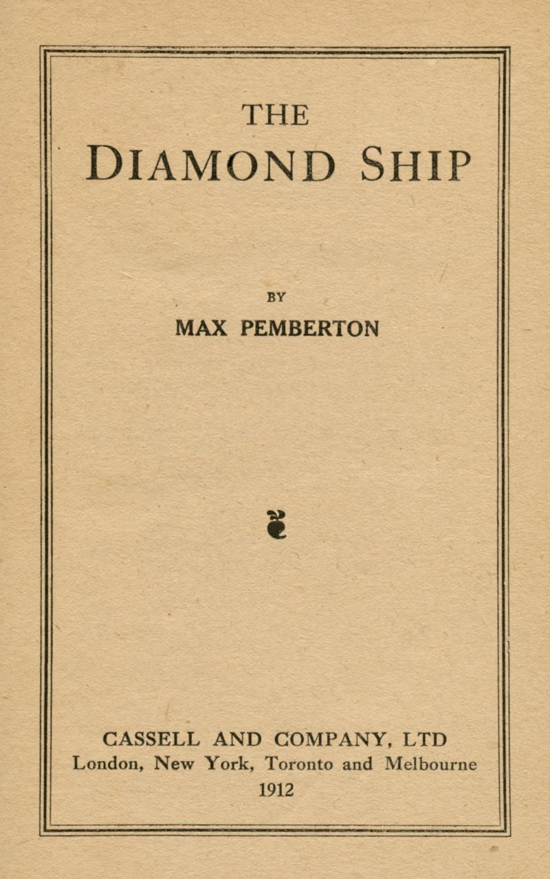 Titleg project gutenberg ebook the diamond ship produced by mardi desjardins the online distributed proofreaders canada team at httppgdpcanada fandeluxe Images