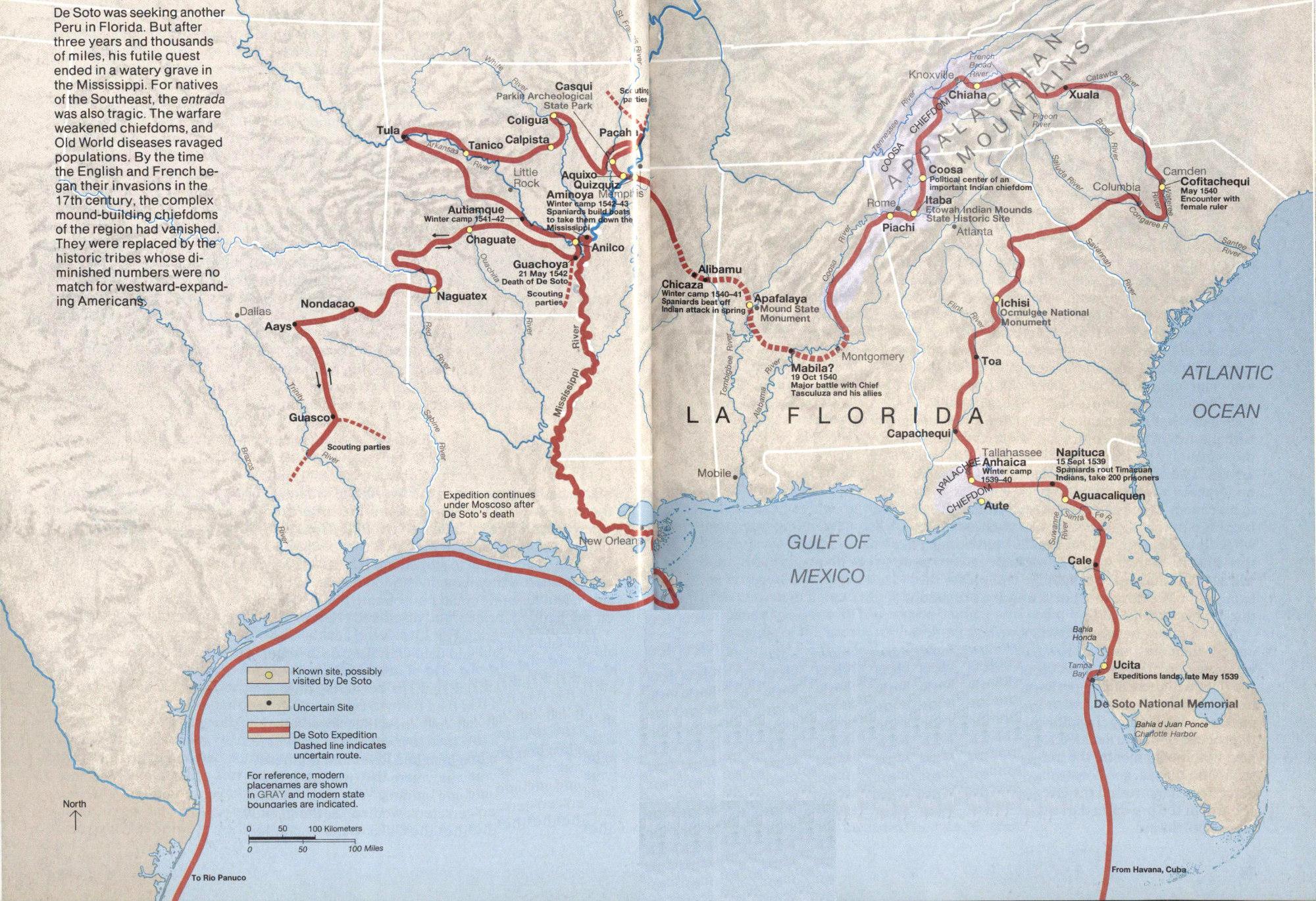 De soto coronado cabrillo a project gutenberg ebook high resolution map fandeluxe Image collections
