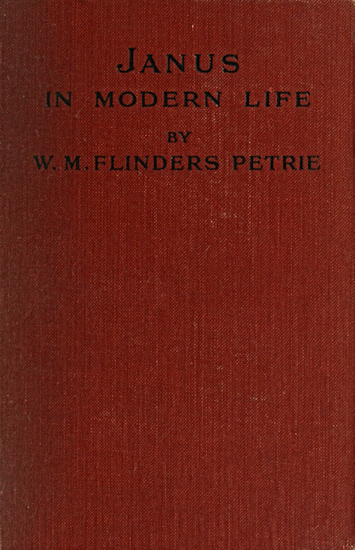 The project gutenberg ebook of janus in modern life by w m cover fandeluxe Images