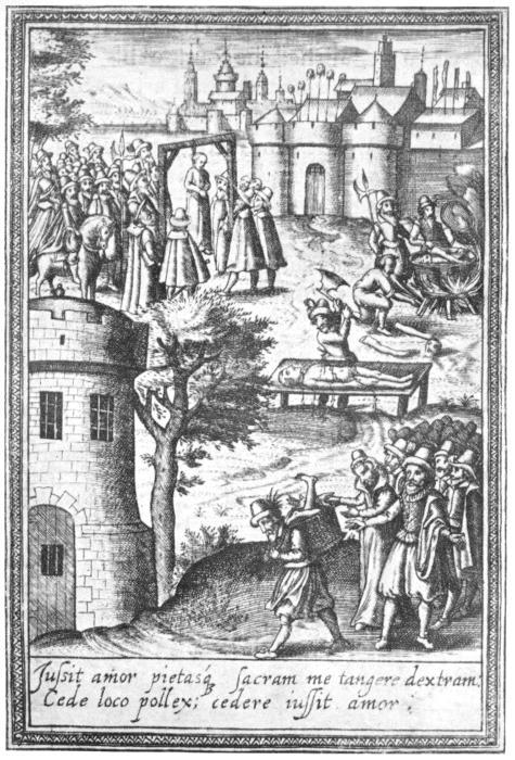 EXECUTIONS AT TYBURN, temp. ELIZABETH.