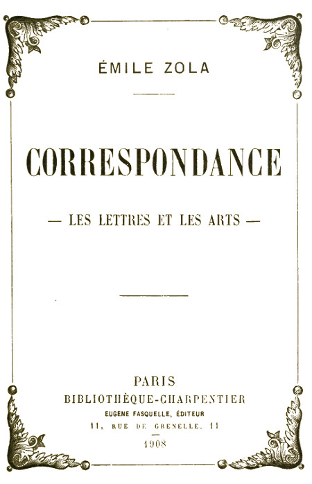 The Project Gutenberg Ebook Of Correspondance Les Lettres
