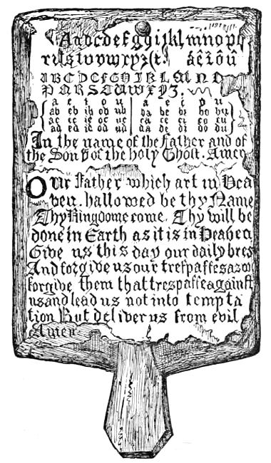 The project gutenberg ebook of the american printer a manual of horn book of the seventeenth century fandeluxe Images