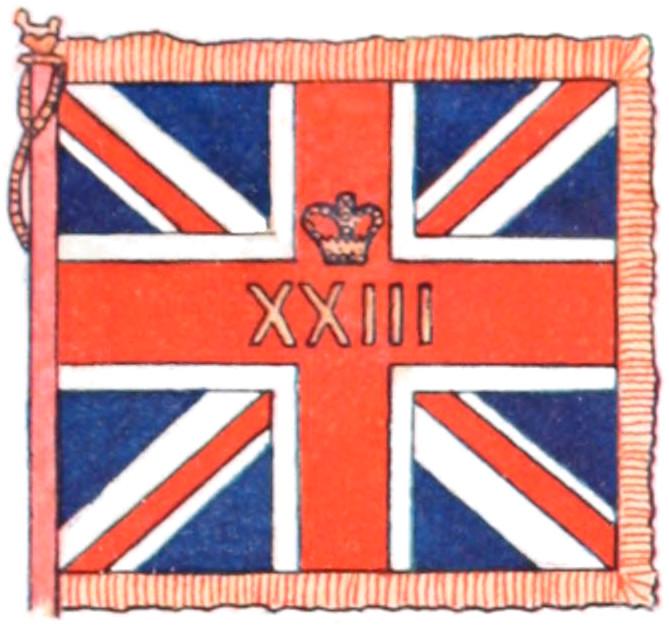 11 company colours standard flag Grenadier Guards No