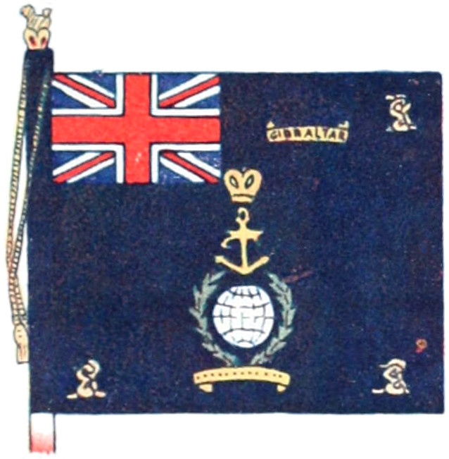 Scots guards 1st battalion Right Flank colours flag 3ft x 3ft9