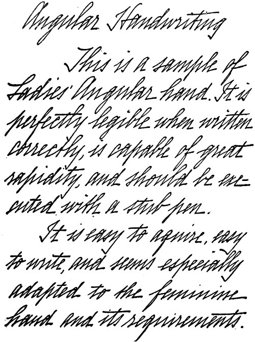 The project gutenberg ebook of the new century standard letter angular handwriting fandeluxe Images