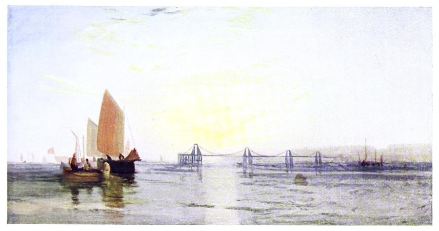 The Project Gutenberg eBook of Turner's Golden Visions, by C