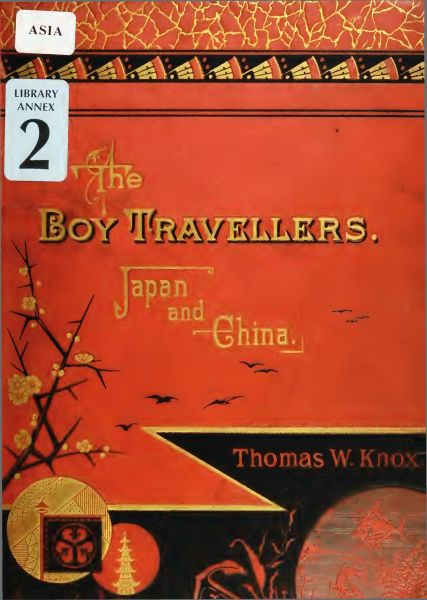 The project gutenberg ebook of the boy travellers in the far east book cover fandeluxe Images