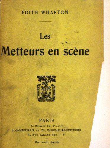 a9cbe67491b02f The Project Gutenberg eBook of Les metteurs en scéne, par Edith Wharton.
