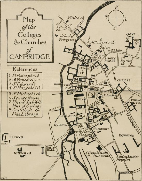 The Project Gutenberg Ebook Of Cambridge And Its Colleges By A