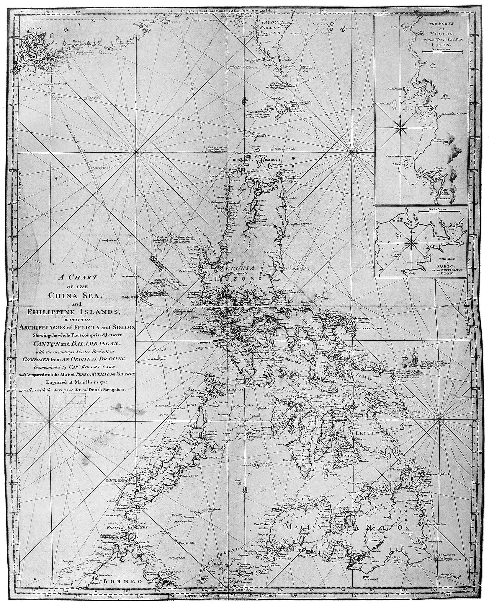The Philippine Islands, 1493–1898: explorations by early