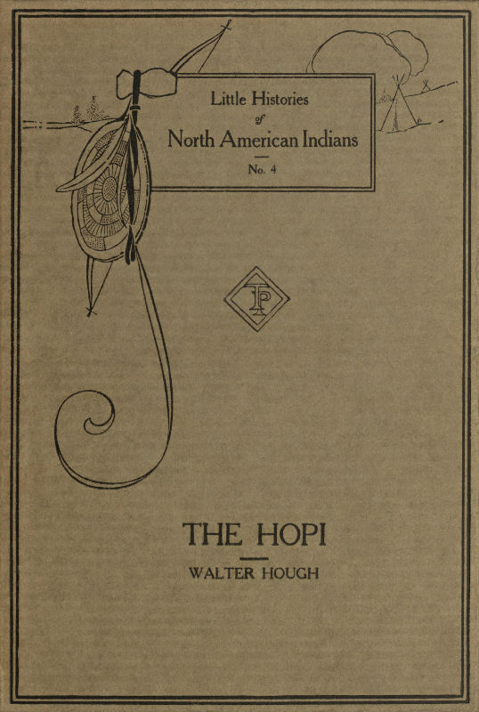The project gutenberg ebook of the hopi indians by walter hough front cover of the book fandeluxe Gallery