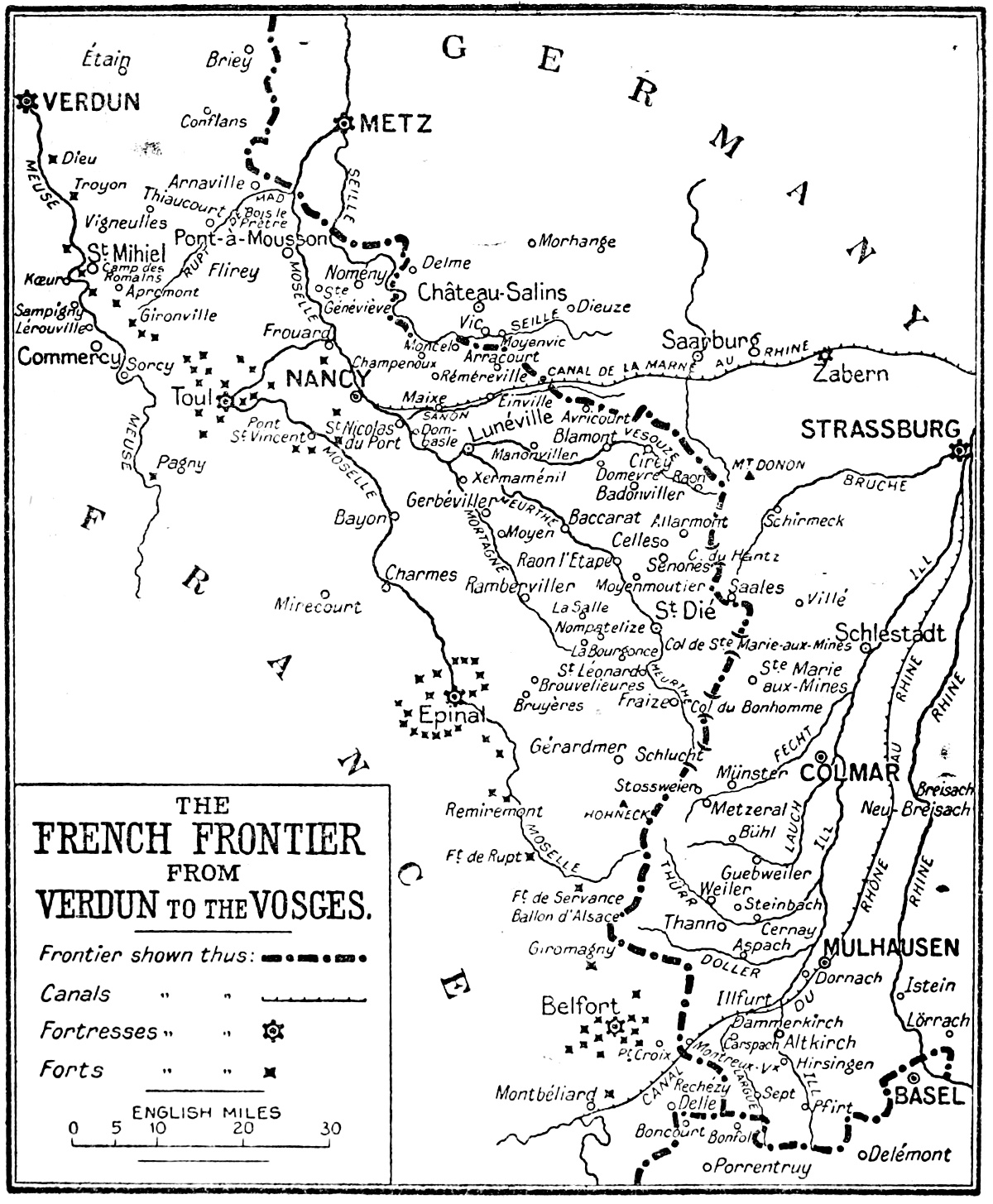 verdun to the vosges by gerald fitzgerald c bell Fast and Furious Brian's House the french frontier from verdun to the vosges