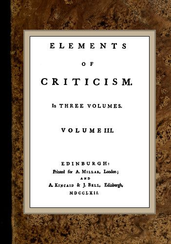 The project gutenberg ebook of elements of criticism vol 3 by elements of criticism fandeluxe Images