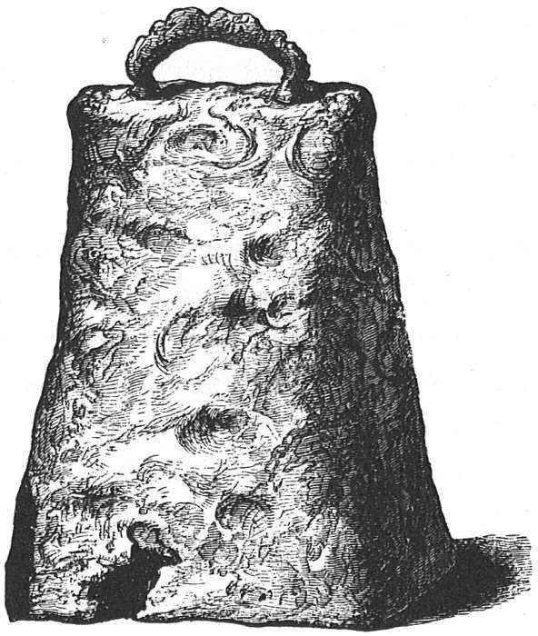 0254d8694910 SQUARE-SIDED BELL FOUND AT SAVEROUGH