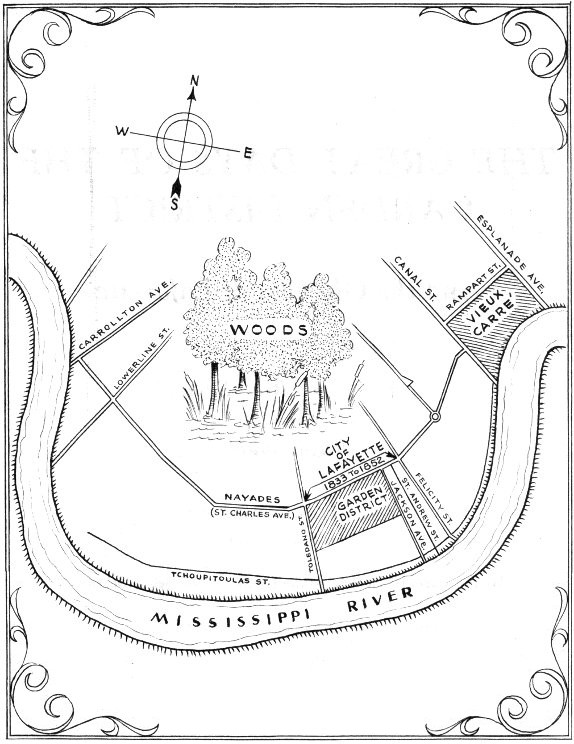 the great days of the garden district and the old city of lafayette Steps to Finishing an Attic the city of lafayette during its 19 years of life was proud and independent map shows its location and that of its back residential area