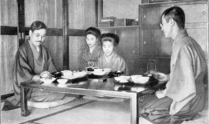The serving maid is kneeling in the corner at the back. If you would essay  eating with chopsticks fec8d49b3