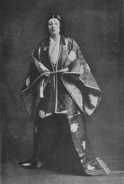 3d7e6a3f7c6 Mrs. Charles Burnett in a 15th-Century Japanese Court costume. Mrs.  Burnett s poems written in Japanese have received Imperial recognition