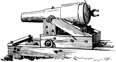 Siege cannon.