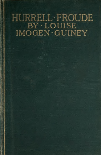 Hurrell Froude By Louise Imogen Guineya Project Gutenberg Ebook