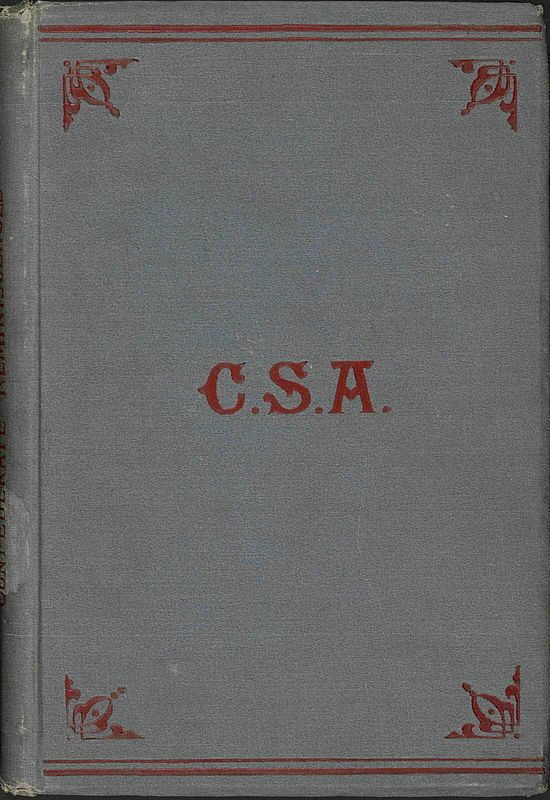 The Project Gutenberg Ebook Of Reminiscences Of Confederate Service