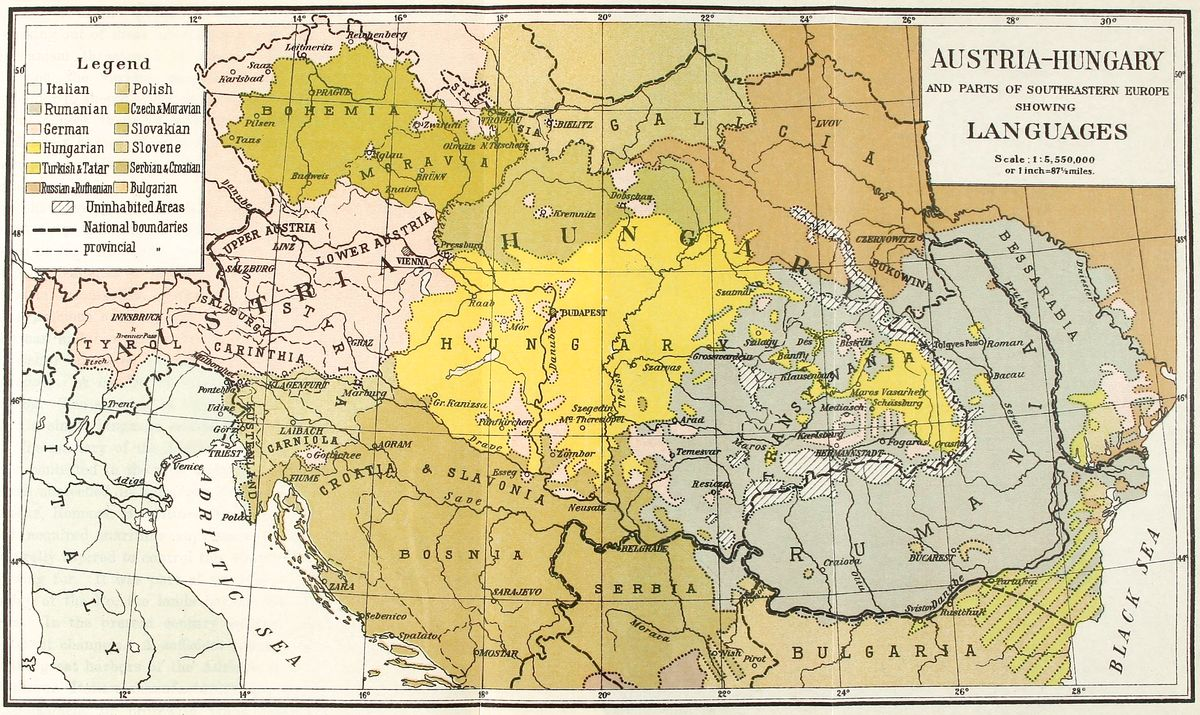 Picture of: The Project Gutenberg Ebook Of The Frontiers Of Language And Nationality In Europe By Leon Dominian