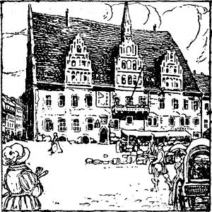 The Project Gutenberg eBook of Rund um den Kreuzturm, by