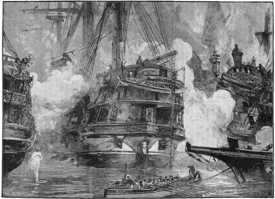 SHIP SS JOHN HOLAND-HARVE, BADEN-1847