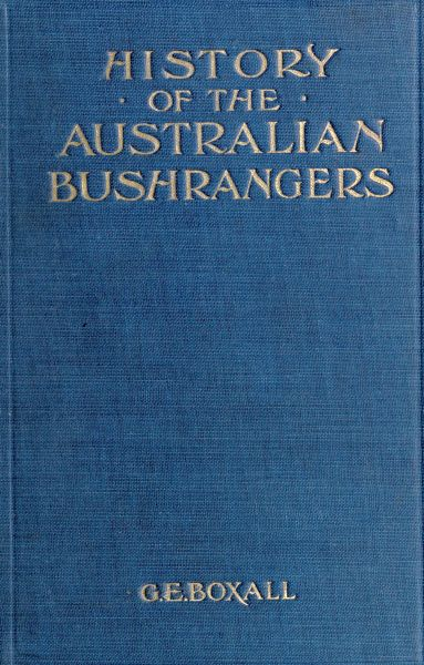 The Project Gutenberg eBook of History of the Australian