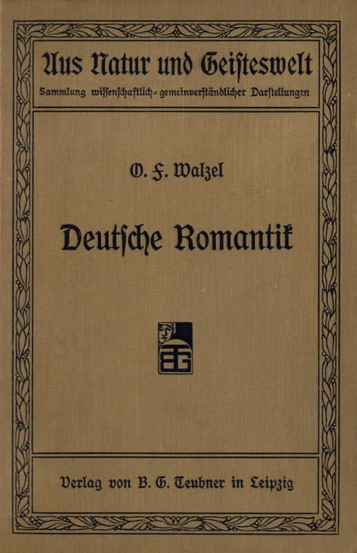 The Project Gutenberg Ebook Of Deutsche Romantik By Oskar