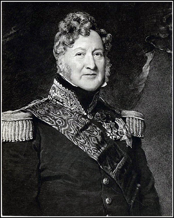 Marquis of Clanricarde Antique Print 1844