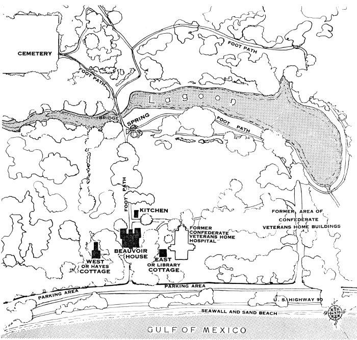 Beauvoir Jefferson Davis Shrine By Beauvoir Historical Committee A Project Gutenberg Ebook