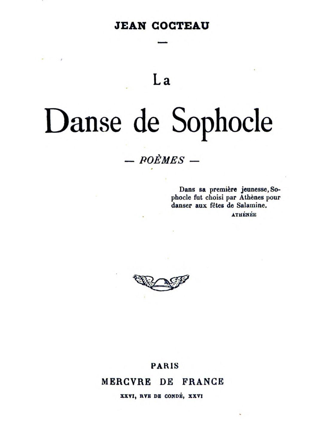 The Project Gutenberg Ebook Of La Danse De Sophocle Poèmes