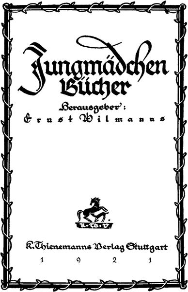 The Project Gutenberg Ebook Of Hans Und Suse In Der Stadt