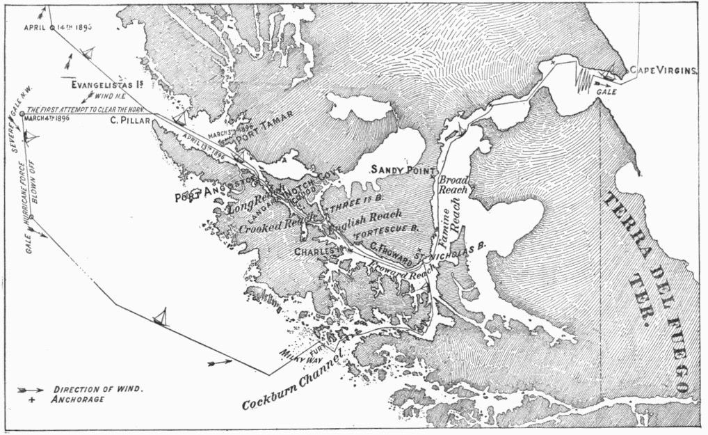 cashes ledge map the project gutenberg ebook of sailing alone around the world by
