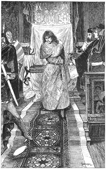 Koning Richard II, Vierde Bedrijf, Eerste Tooneel.