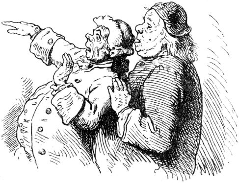Weißes Paar teilen Ebenholz