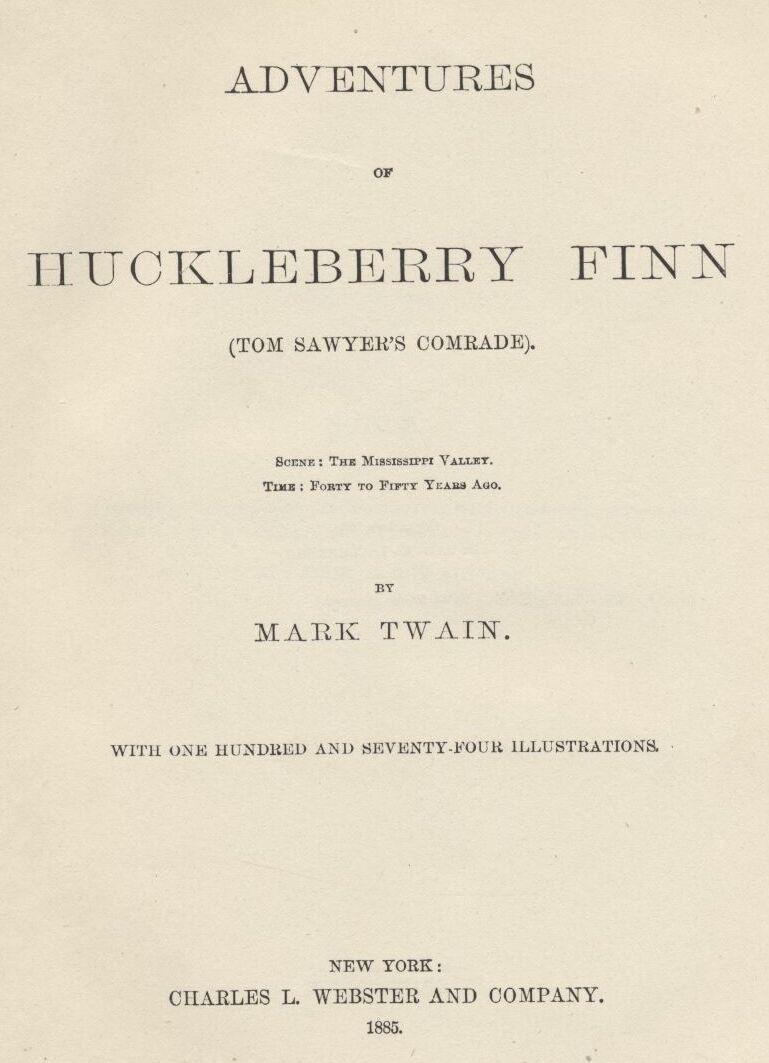 Example Proposal Essay Adventures Of Huckleberry Finn Essay Health also Essays For High School Students To Read Huckleberry Finn By Mark Twain Part  Healthy Living Essay