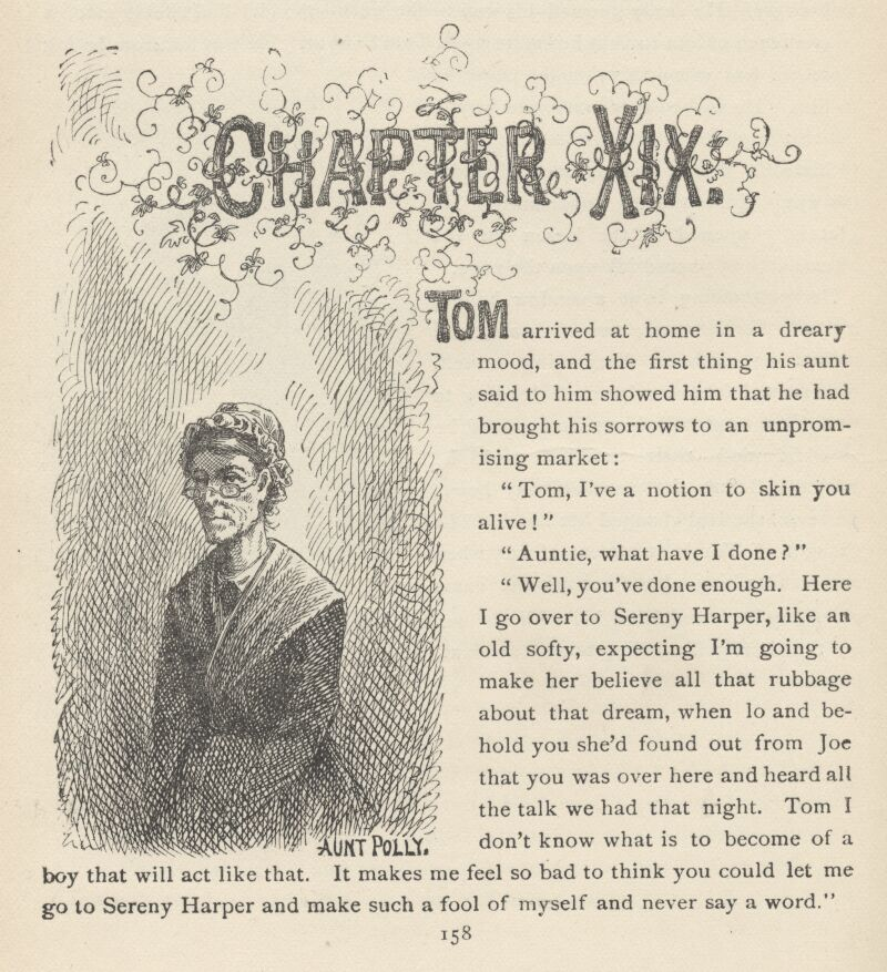 Adventures Of Tom Sawyer By Twain Complete