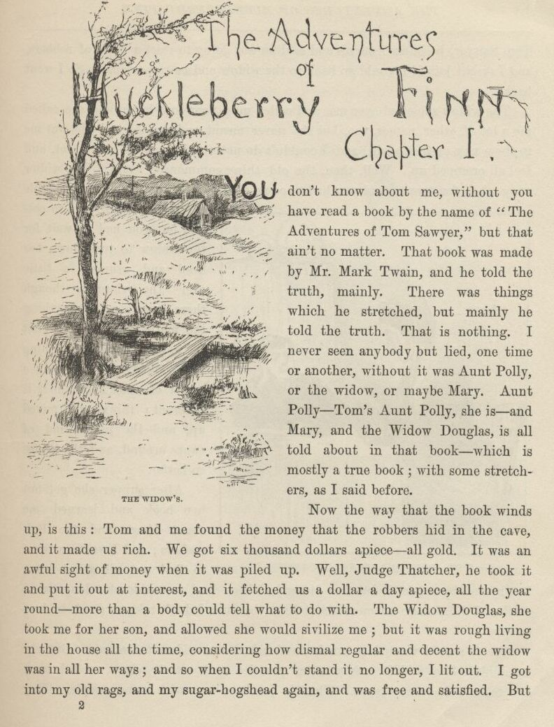 huckleberry finn by mark twain complete c01 02 jpg 182k