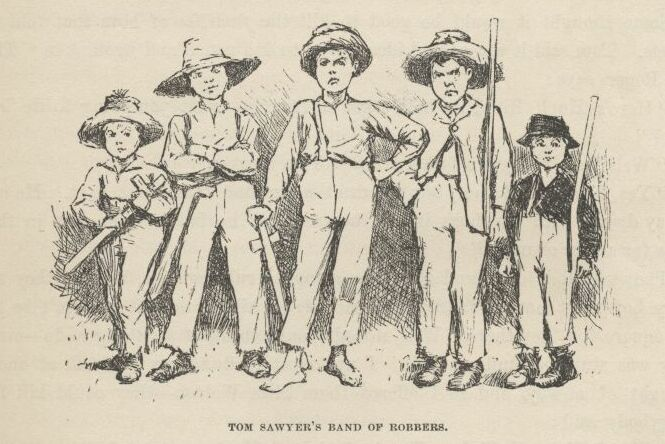 the adventures of tom sawyer character traits