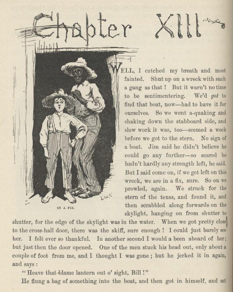 HUCKLEBERRY FINN, By Mark Twain, Complete